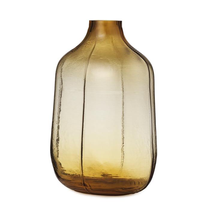 Die Step Vase von Normann Copenhagen, H 31 cm, braun
