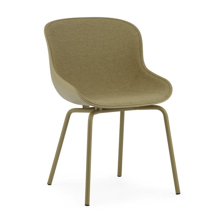 Der Hyg Chair Frontpolster von Normann Copenhagen in olive / Main Line Flax