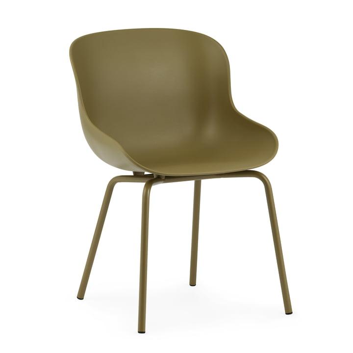 Der Hyg Chair von Normann Copenhagen in olive