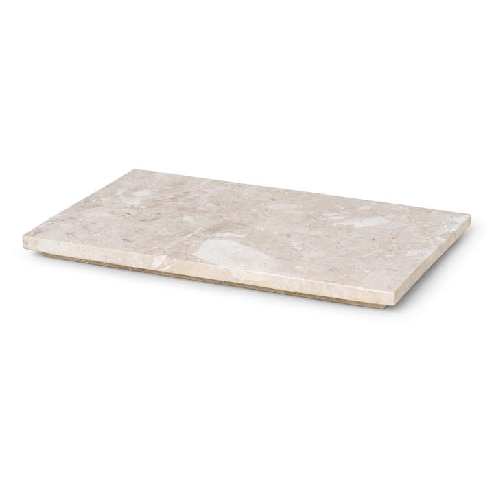 Das Tablett für die Plant Box von ferm Living aus Marmor