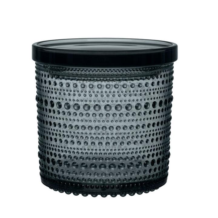 Das Kastehelmi Vorratsglas von Iittala, 116 x 114 mm, dunkelgrau