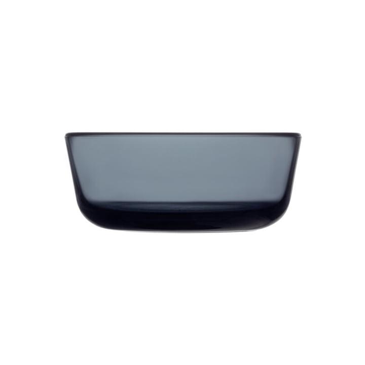 Die Essence Glasschale von Iittala, 37 cl, dunkelgrau
