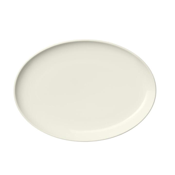 Der Essence Teller von Iittala, oval 25 cm, weiß
