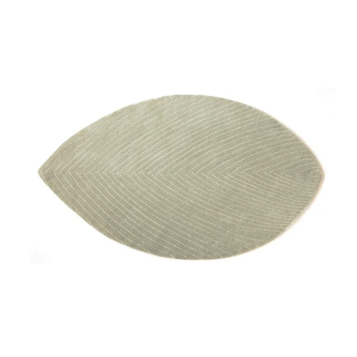 Quill Teppich S, 78 x 120 cm, graublau von nanimarquina