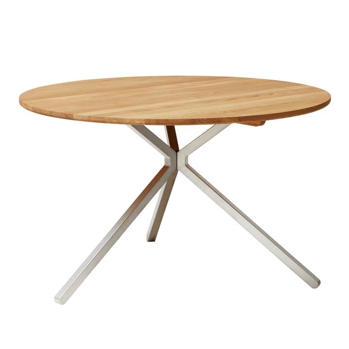 Frisbee Tisch, Ø 120 cm, Eiche von Form & Refine