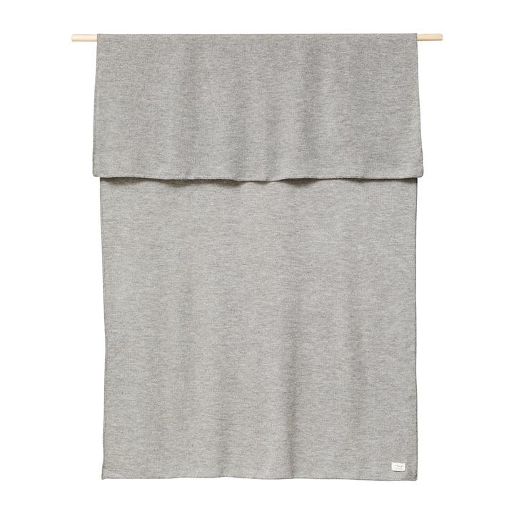 Aymara Decke, 130 x 190 cm, einfarbig grau von Form & Refine