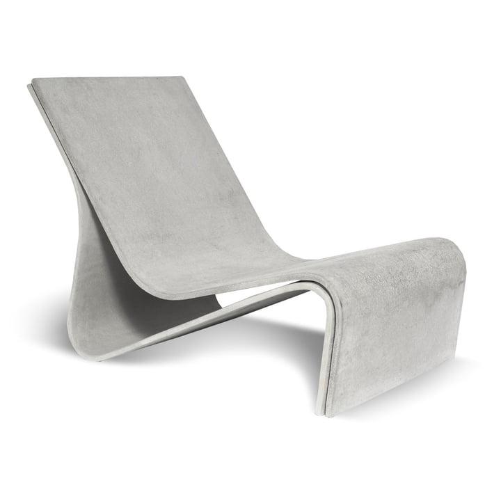 Der Sponeck Outdoor Sessel von Eternit, 78 x 50 x 60 cm, naturgrau