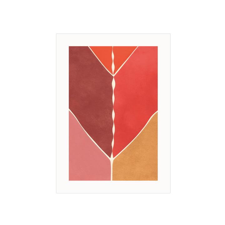 Das Navigation Poster von Paper Collective, 50 x 70 cm