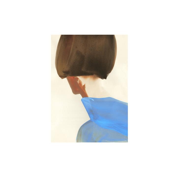 Das The Blue Cape Poster von Paper Collective, 30 x 40 cm
