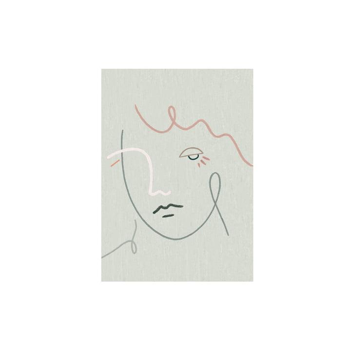 Das Gertrude Poster von Paper Collective, 30 x 40 cm