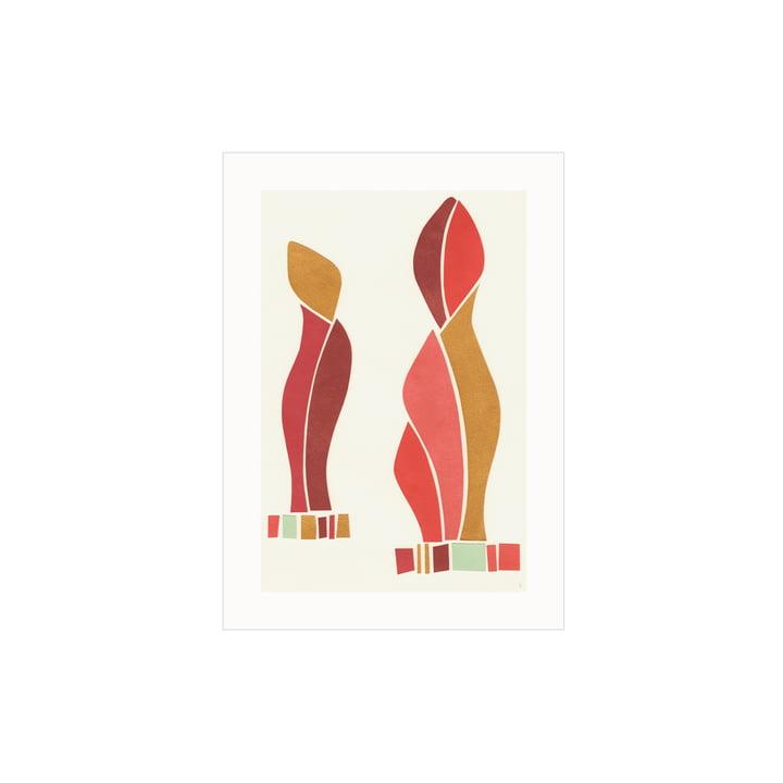 Das Come Closer Poster von Paper Collective, 30 x 40 cm