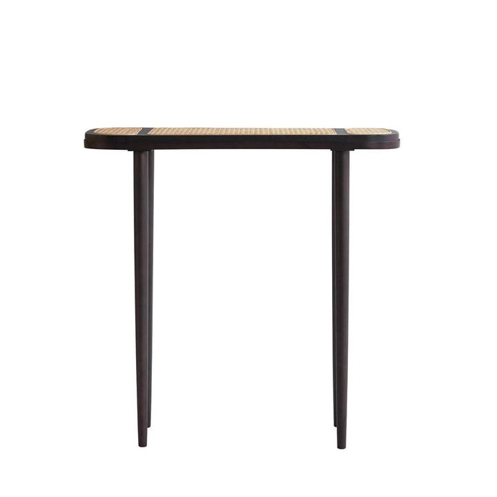 Der Hako Console Tisch von 101 Copenhagen, 80 x 30 cm, burned black