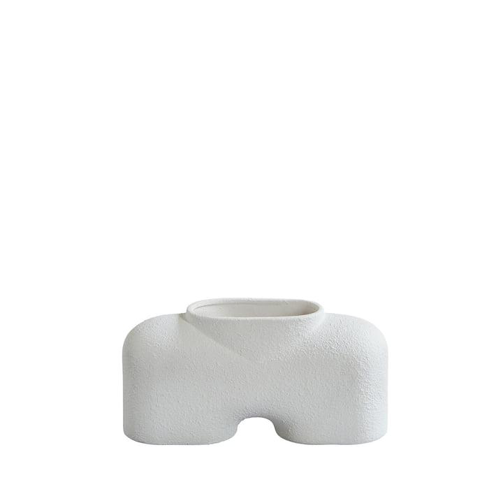 Die Cobra Vase von 101 Copenhagen, Fat - Bubble White