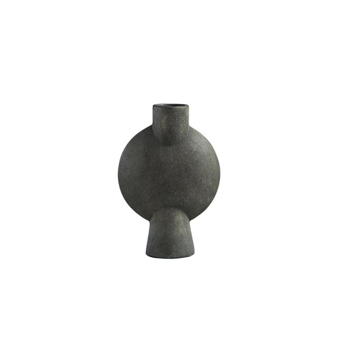 Die Sphere Vase Bubl Mini von 101 Copenhagen, dunkelgrau
