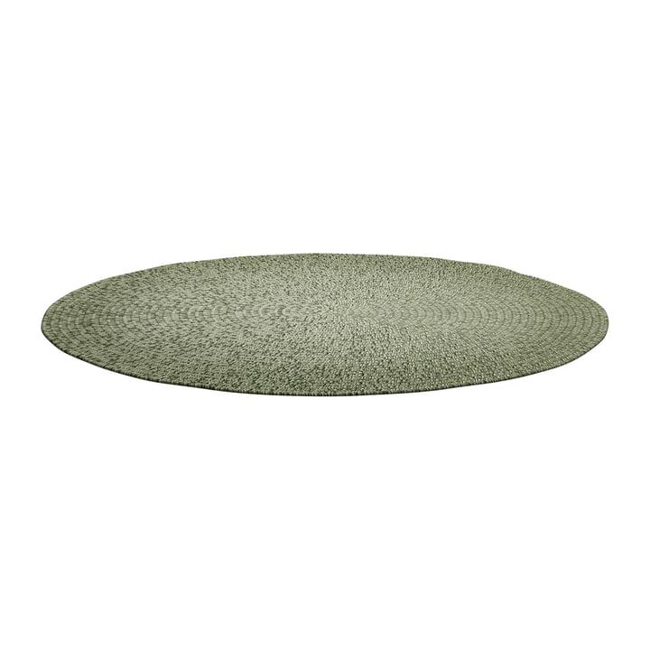 Der Deco Teppich Outdoor von Gloster, Ø 140 cm, moss ombre