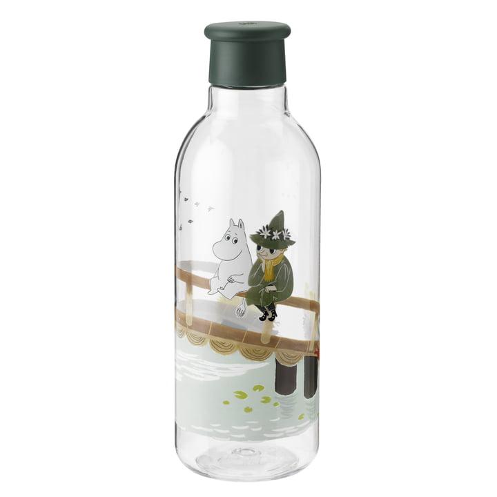 Die Drink-It Moomin Wasserflasche von Rig-Tig by Stelton, 0.75 l, dunkelgrün