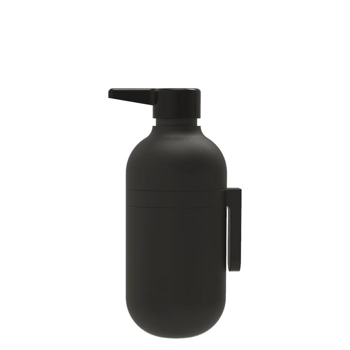 Der Pump-It Seifenspender von Rig-Tig by Stelton, schwarz
