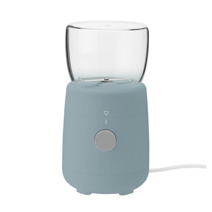 Die Foodie Elektrische Kaffeemühle von Rig-Tig by Stelton, dusty blau