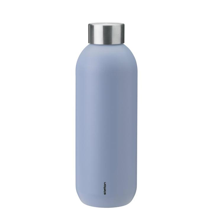 Die Keep Cool Trinkflasche von Stelton, 0,6 l, lupin / steel