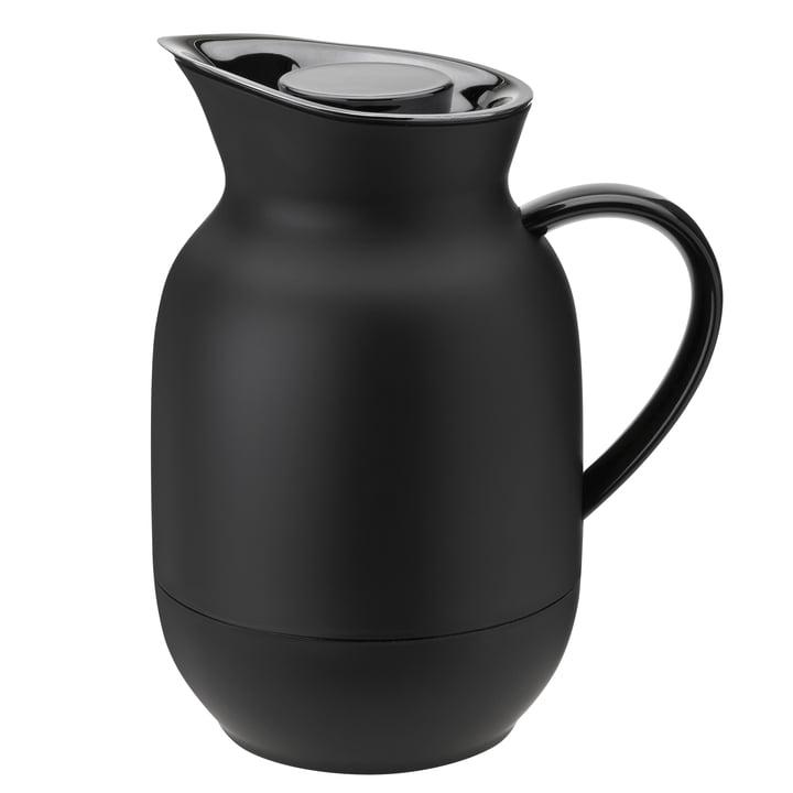 Die Amphora Kaffeeisolierkanne von Stelton, 1 l, soft black