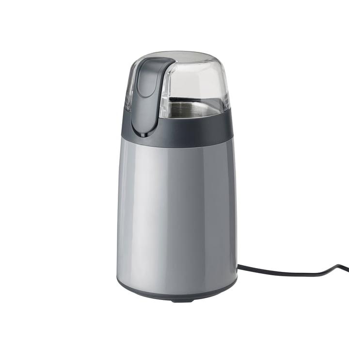 Die Emma Kaffeemühle von Stelton in grau