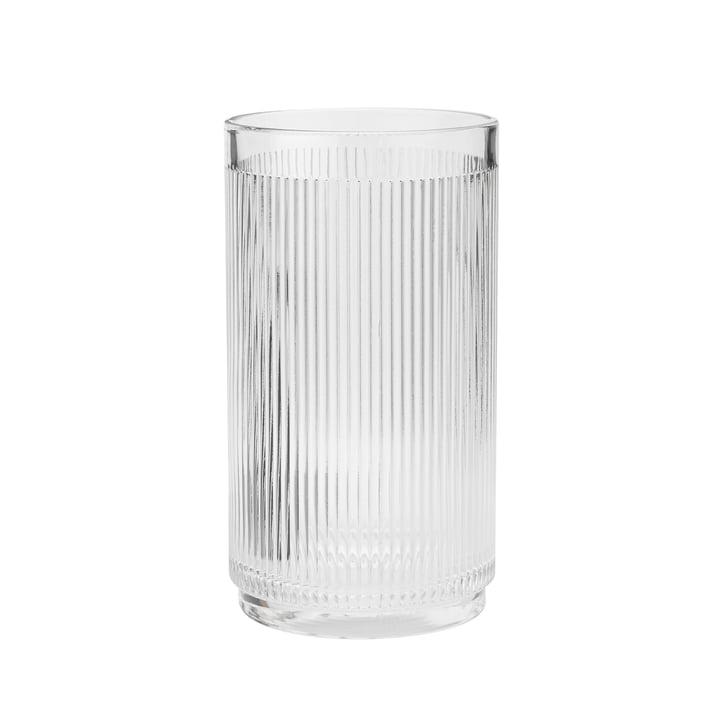 Der Pilastro Weinkühler von Stelton, transparent