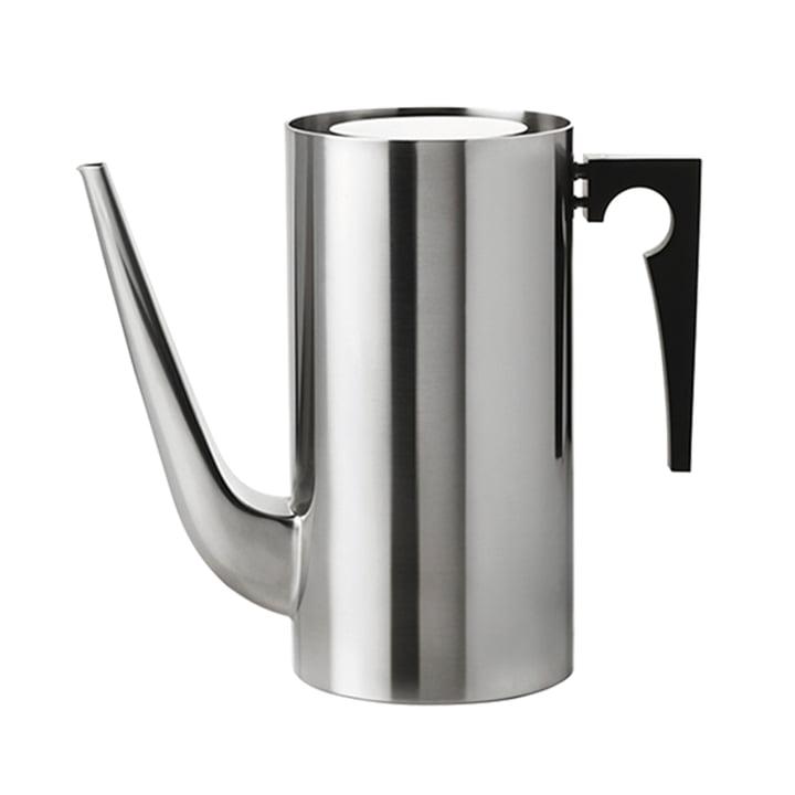 Die AJ Kaffeekanne von Stelton, 1.5 l, Edelstahl