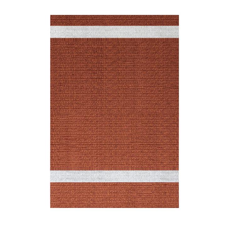 Onda Outdoor Teppich, 200 x 300 cm, rot von Fast