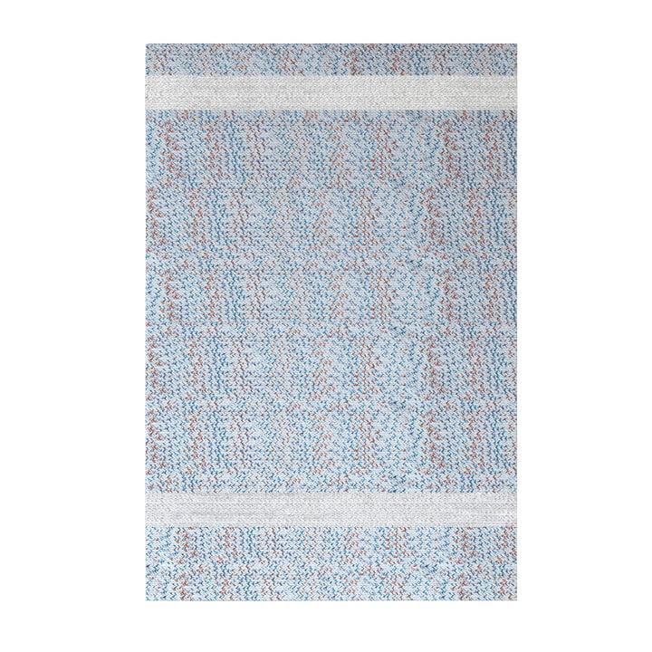 Onda Outdoor Teppich, 200 x 300 cm, weiß / rot / blau von Fast
