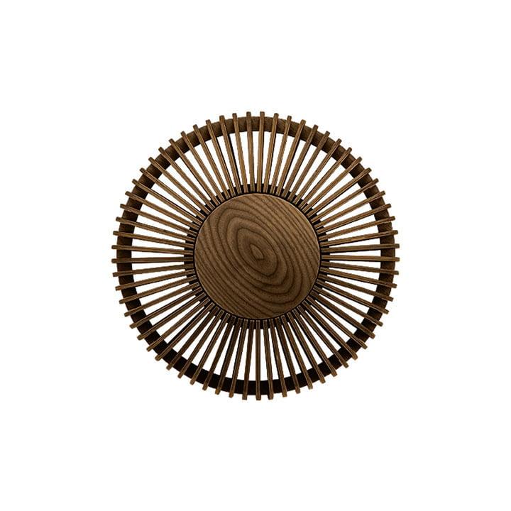 Der Clava Up Wood Leuchtenschirm von Umage, Eiche dunkel medium