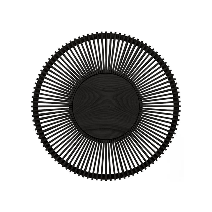 Der Clava Up Wood Leuchtenschirm von Umage, Eiche schwarz large