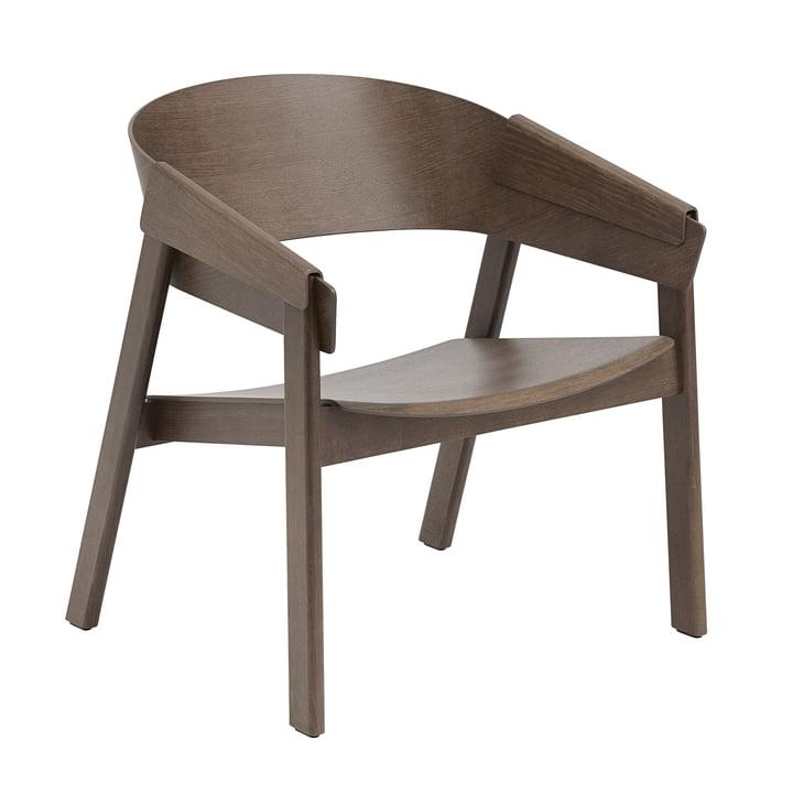 Der Cover Lounge Chair von Muuto, dunkelbraun