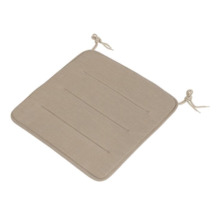 Das Sitzkissen für Linear Steel Side Chair / Armchair von Muuto, warm beige