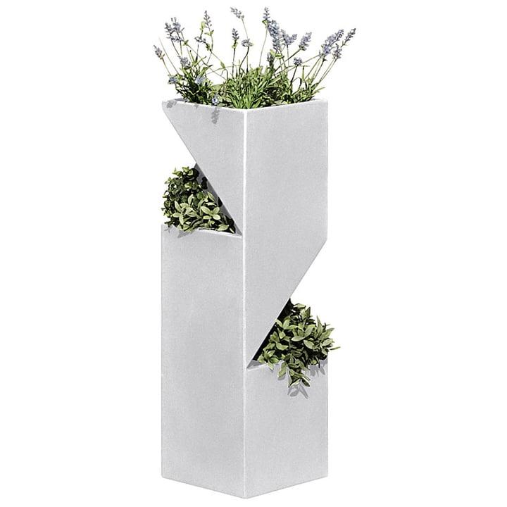 Das Plantower Pflanzgefäß von rephorm, weiß