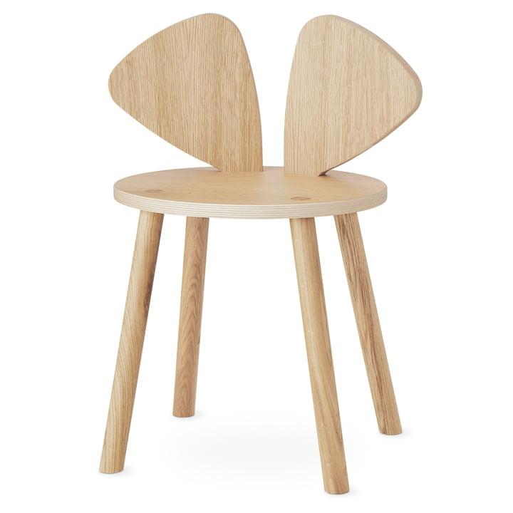 Der Mouse School Stuhl von Nofred, Eiche matt lackiert
