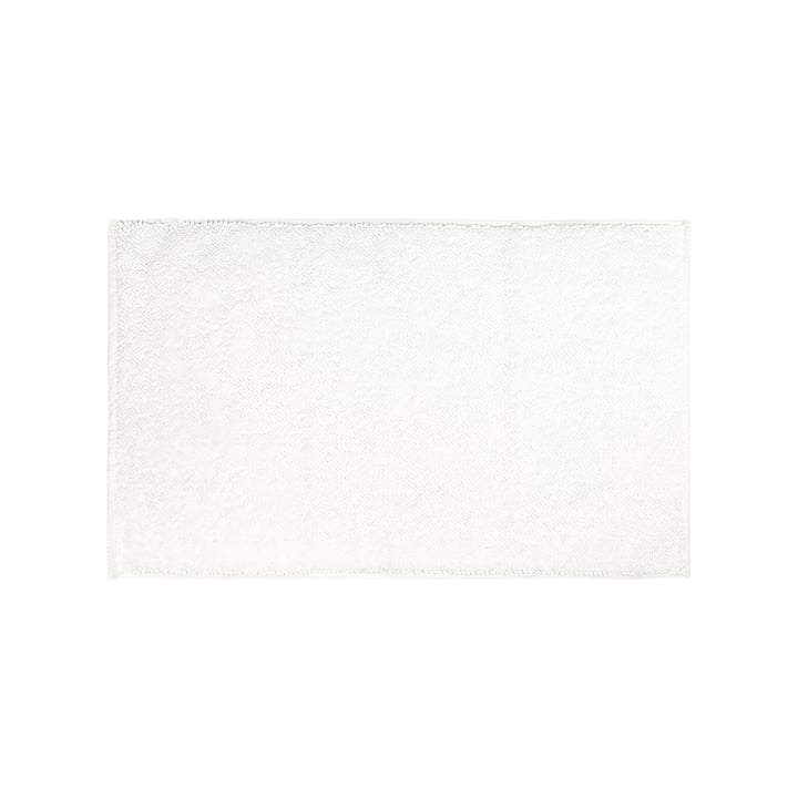 Die Beads Badematte aus der Connox Collection, 50 x 80 cm, weiß