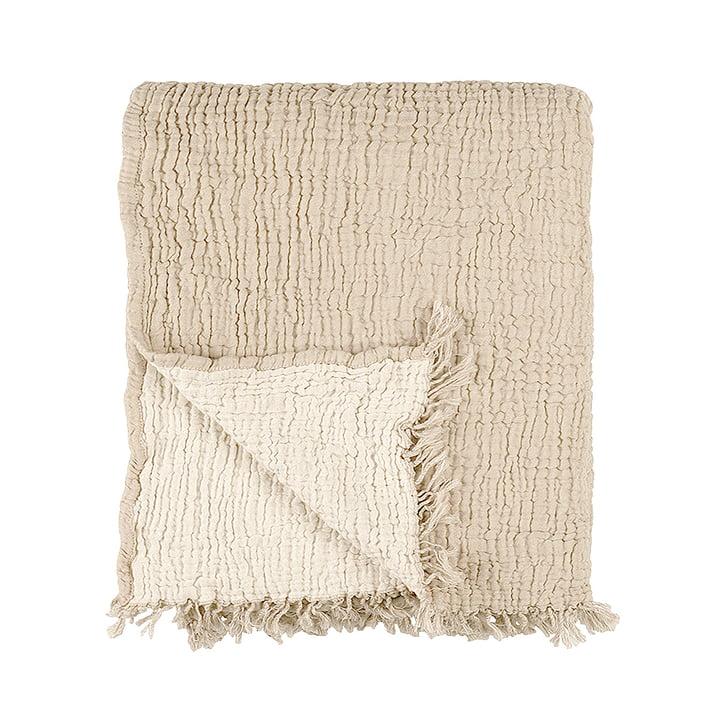 Die Cocoon Decke von Connox Collection, beige