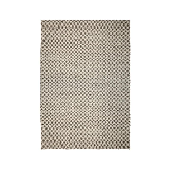 Der Kelim Wendeteppich aus der Connox Collection, 140 x 200 cm, Rautenmuster, dunkelgrau / offwhite