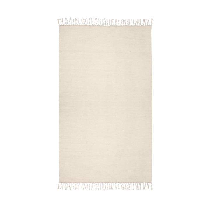 Der Kelim Teppich aus der Connox Collection, 140 x 200 cm, offwhite