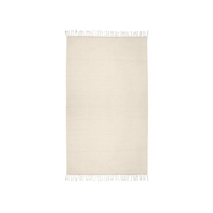 Der Kelim Teppich von Connox Collection, 90 x 160 cm, offwhite