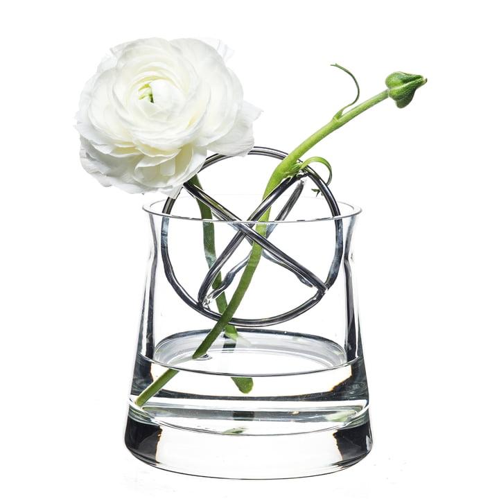 Sphere Vase Small, Edelstahl von Born in Sweden