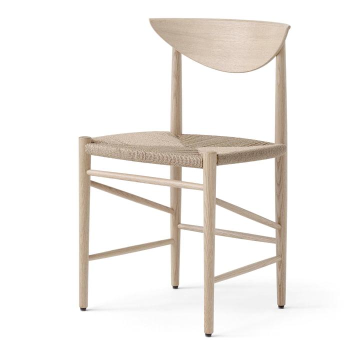 Der Drawn HM3 Stuhl von &Tradition, Eiche geseift / Papierkordel