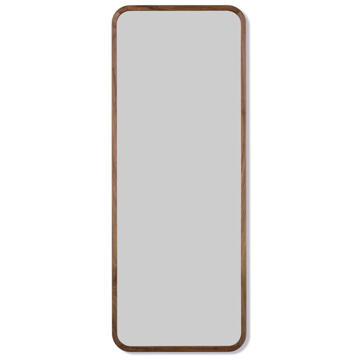 Silhouette Spiegel 70 x 180 cm von Fredericia in Walnuss geölt