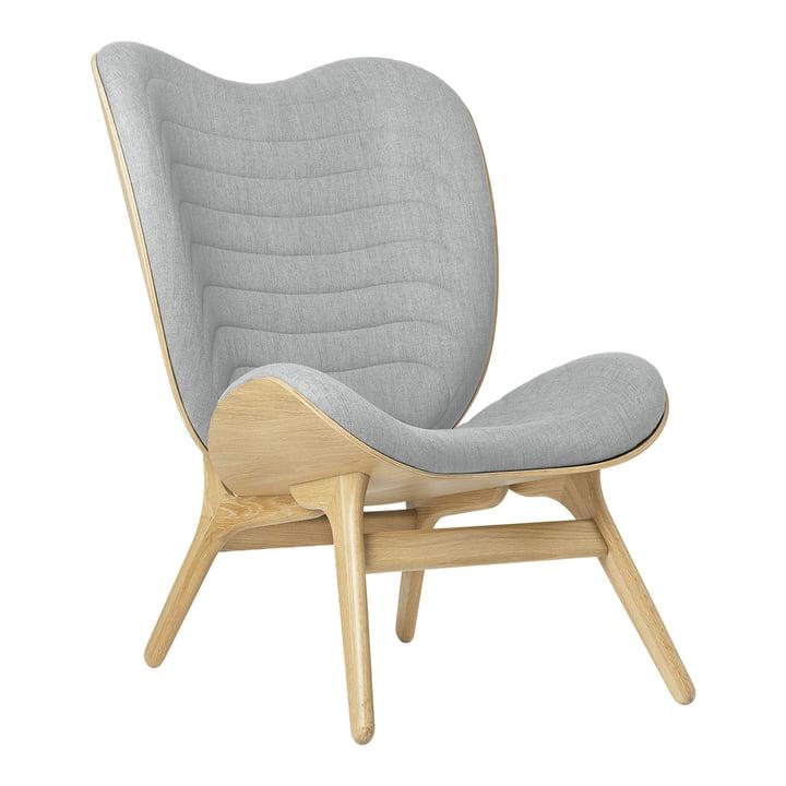 Der A Conversation Piece Tall Sessel von Umage, Eiche / silver grey (kingston)
