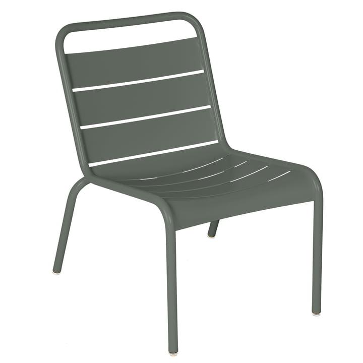 Der Luxembourg Lounge-Stuhl von Fermob, rosmarin