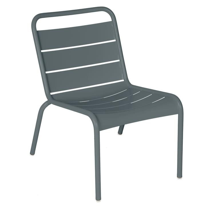 Der Luxembourg Lounge-Stuhl von Fermob, gewittergrau