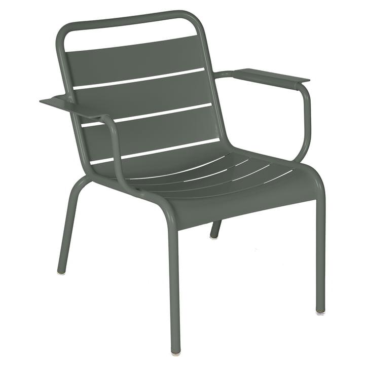 Der Luxembourg Lounge-Sessel von Fermob, rosmarin