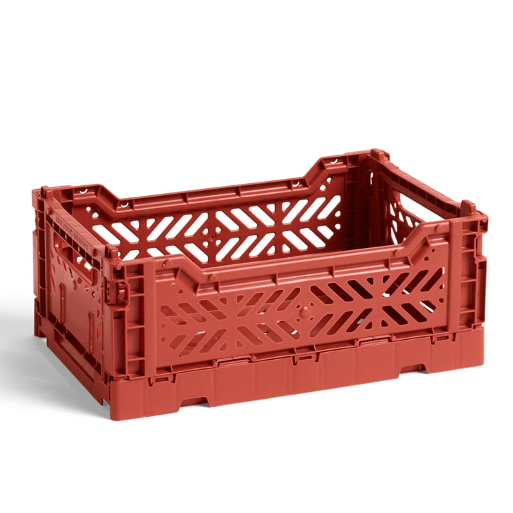 Hay - Colour Crate Korb S, 26,5 x 17 cm, terracotta