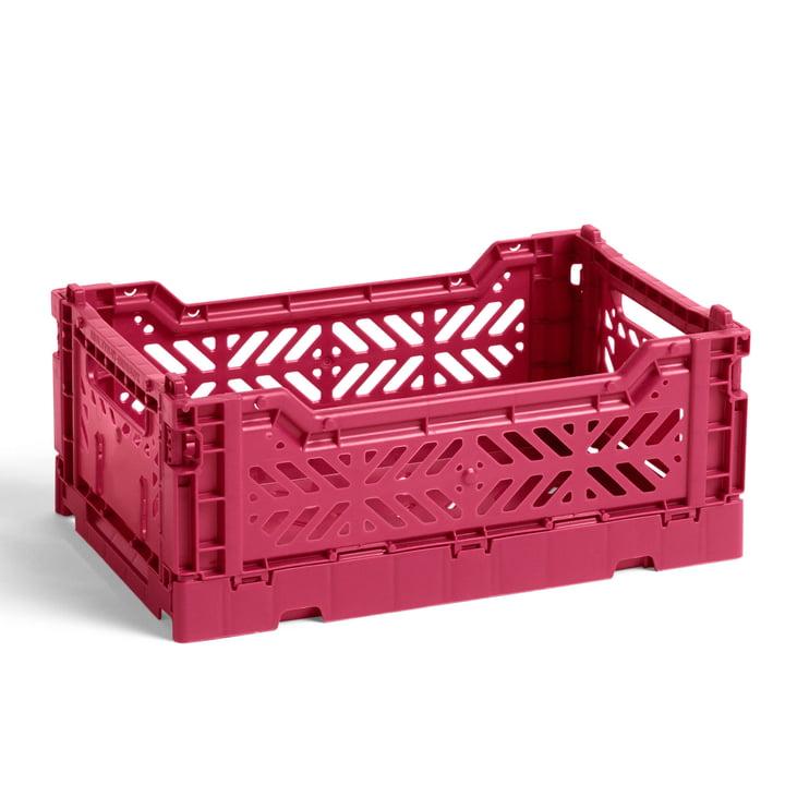 Der Colour Crate Korb S von Hay, 26,5 x 17 cm, plum