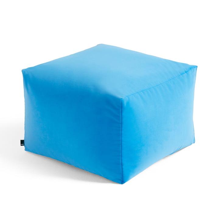 Der Varer Pouf von Hay, limited edition #1, bright blue